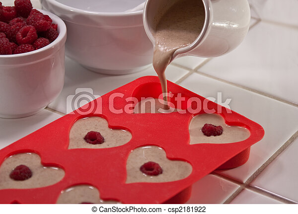 Valentine's Day breakfast - csp2181922