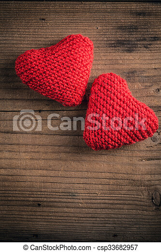 Valentines day card concept - csp33682957