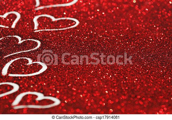 Valentines day card - csp17914081
