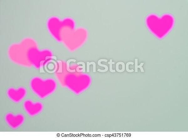 Valentines day card - csp43751769