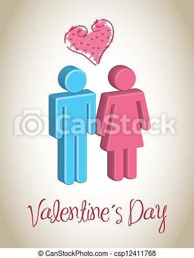 Valentines Day - csp12411768