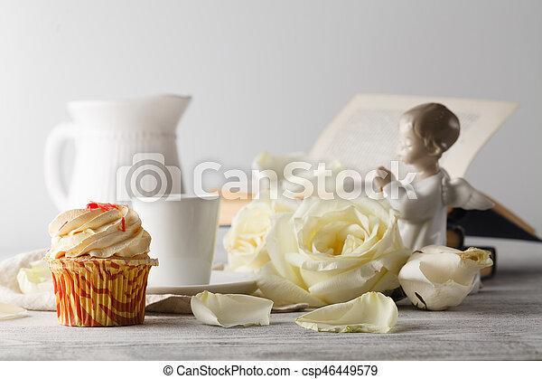 Valentine's day coffee - csp46449579