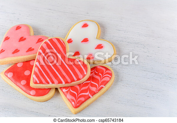 Valentine's day cookies - csp65743184
