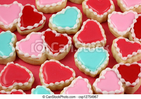 Valentine's Day Cookies - csp12754967