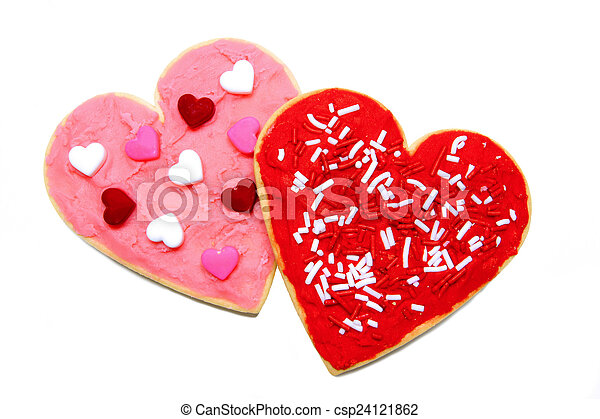 Valentines Day cookies - csp24121862
