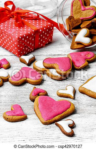 Valentine's day cookies - csp42970127