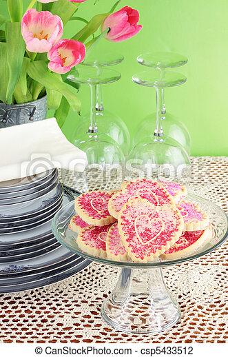 Valentine's Day Cookies - csp5433512