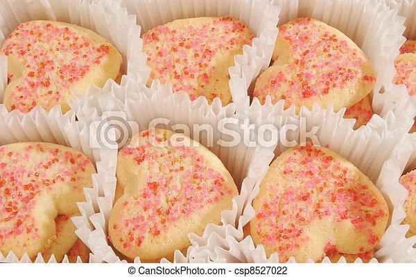 Valentine's Day cookies - csp8527022