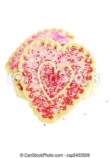 Valentine's Day Cookies - csp5433509