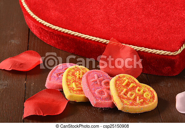 Valentines Day cookies - csp25150908