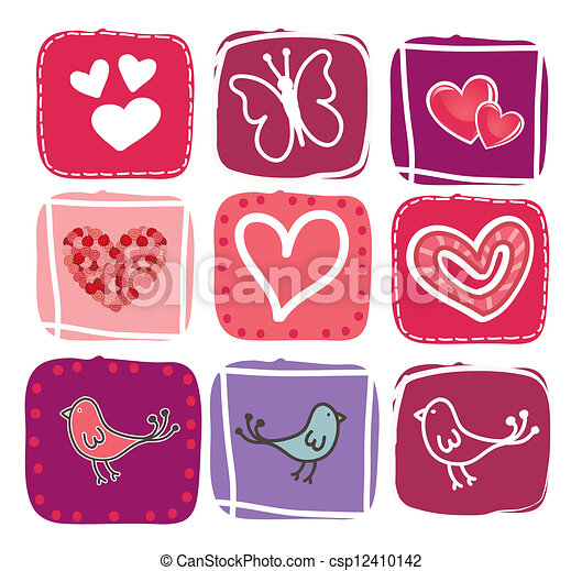 Valentines day - csp12410142