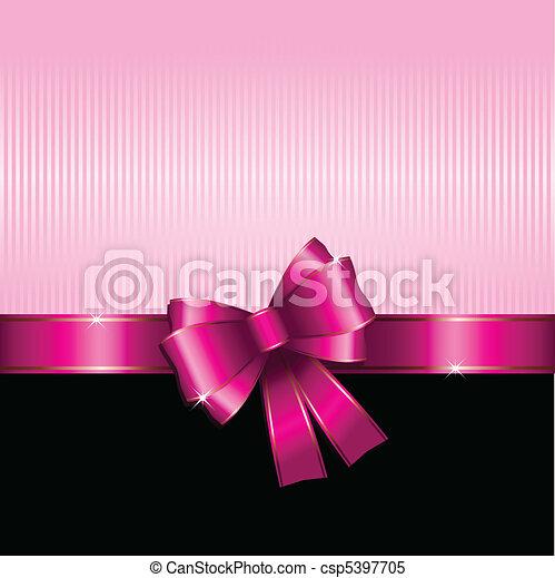 Valentines Day gift background - csp5397705