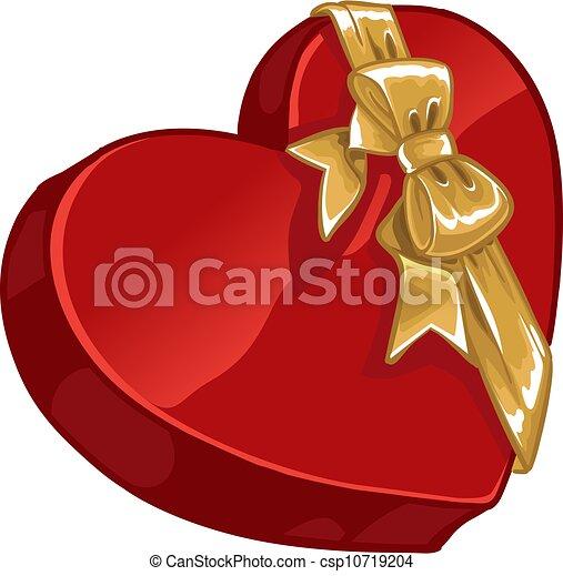 Valentine`s day gift candy  - csp10719204
