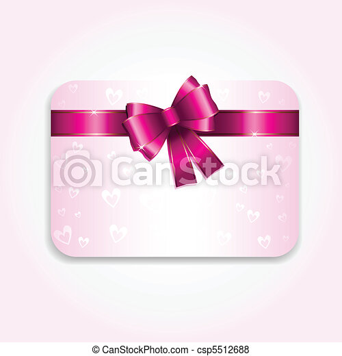 Valentines Day gift card - csp5512688