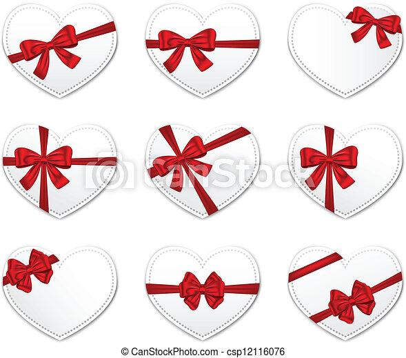 Valentine's Day gift cards - csp12116076