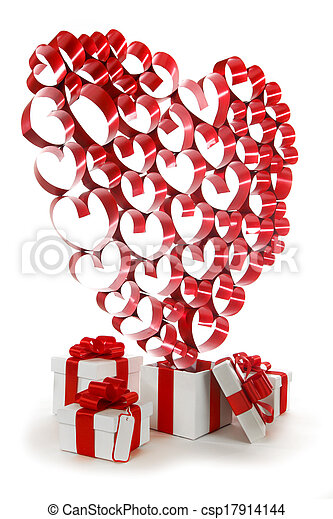 Valentines day gifts - csp17914144