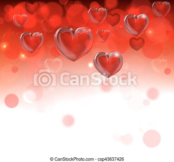 Valentines Day Header Background - csp43637426