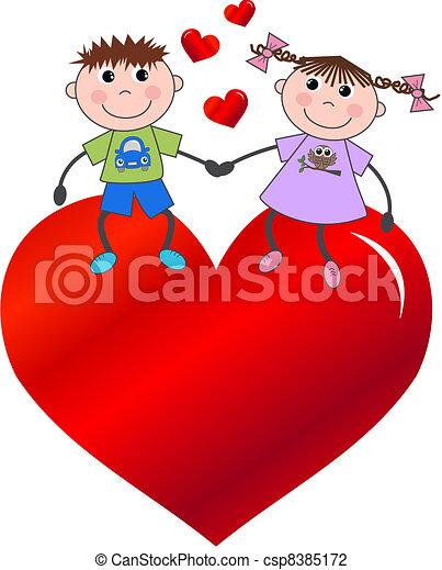 valentines day - csp8385172