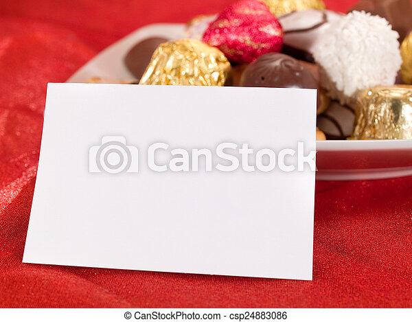Valentine's Day Sweets - csp24883086