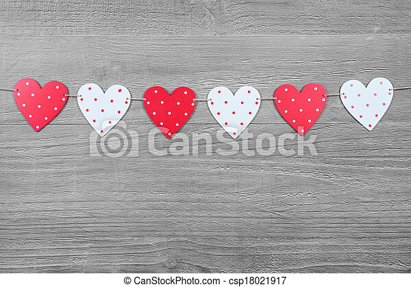 Valentines Day symbols - csp18021917
