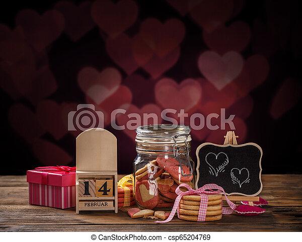 Valentines day theme - csp65204769