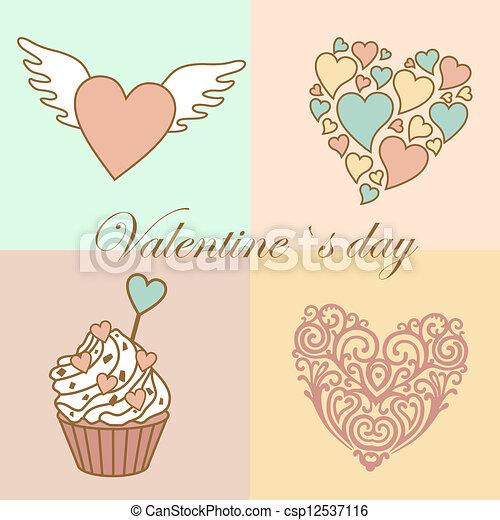 valentine`s day - csp12537116