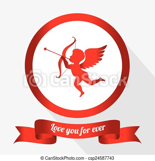 Valentines day, vector illustration. - csp24587743