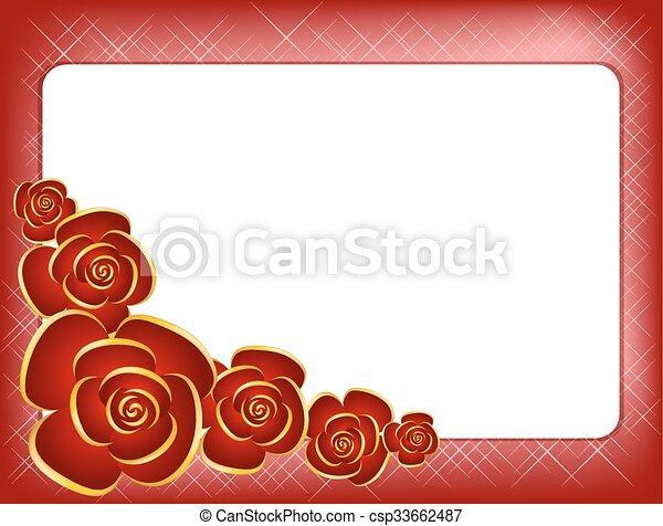 Valentines day vector illustration - csp33662487