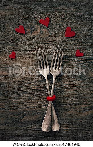 Valentines dinner - csp17481948