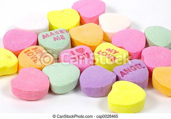 valentines dzień, cukierek - csp0028465