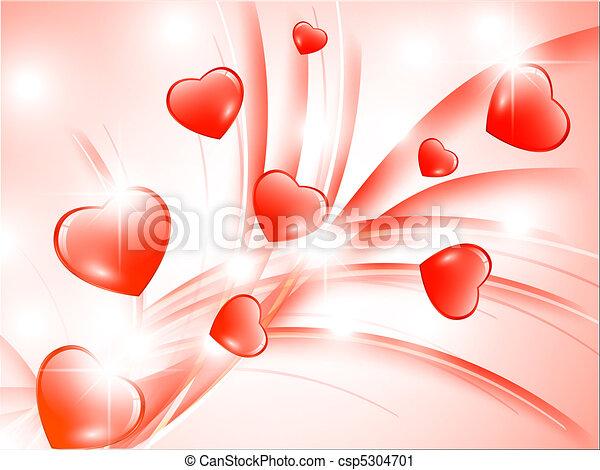 valentine`s dzień, tło - csp5304701