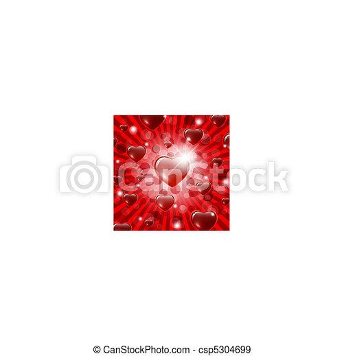 valentine`s dzień, tło - csp5304699