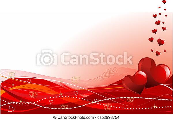 valentine\'s, dzień, tło - csp2993754