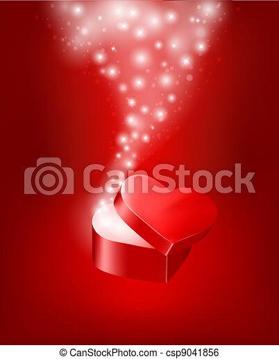 valentine`s dzień, tło - csp9041856