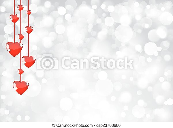 Valentines greeting card - csp23768680