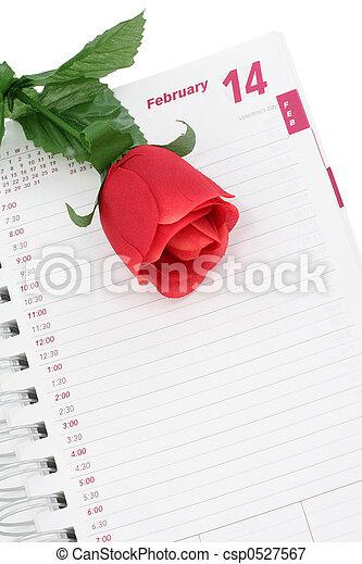 valentine\\\'s, jour - csp0527567