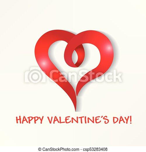 Valentines love card logo happy valentines greetings card vector valentines love card logo csp53283408 m4hsunfo