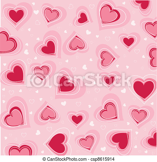 valentines nap, kártya - csp8615914