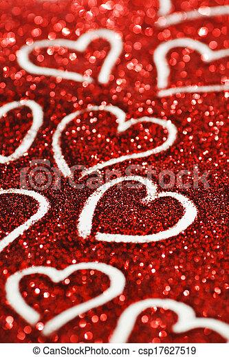 valentines nap, kártya - csp17627519
