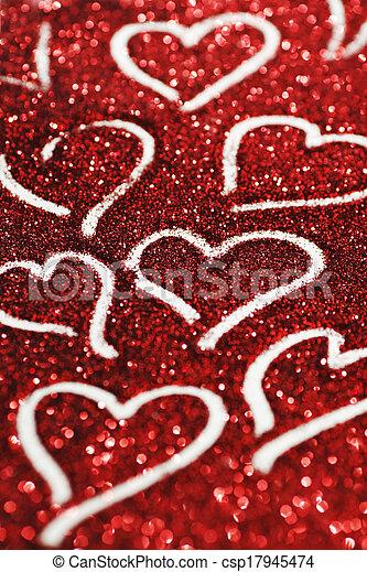 valentines nap, kártya - csp17945474