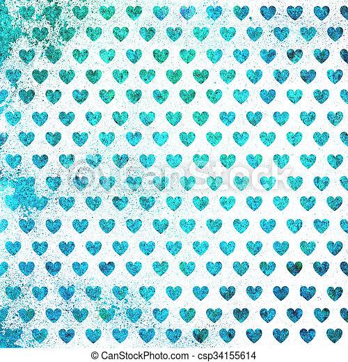 valentines nap, kártya - csp34155614