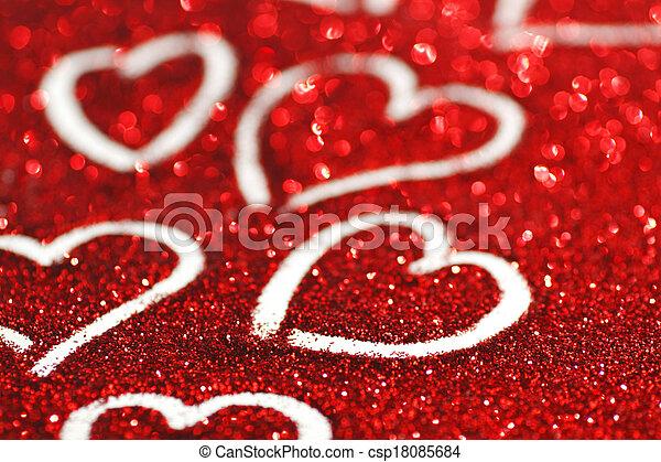 valentines nap, kártya - csp18085684