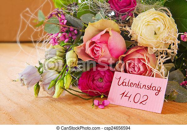 valentines nap, kártya - csp24656594