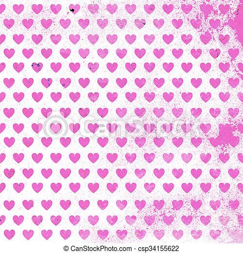 valentines nap, kártya - csp34155622