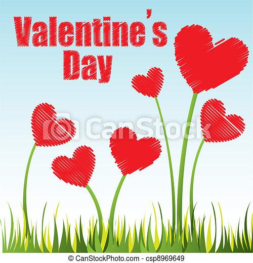 valentines nap - csp8969649