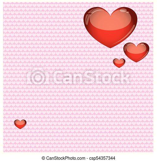 Valentinstag Hintergrund - csp54357344
