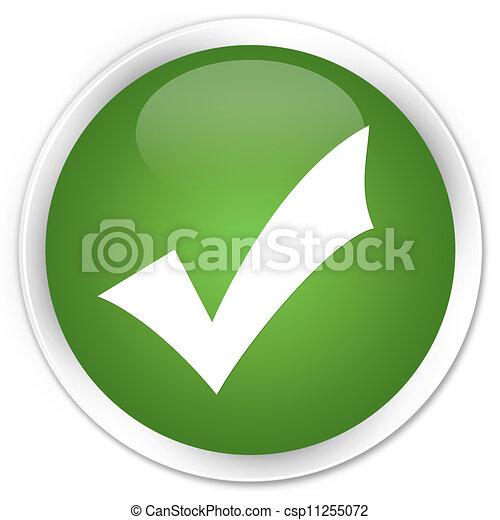 Validate icon green button - csp11255072