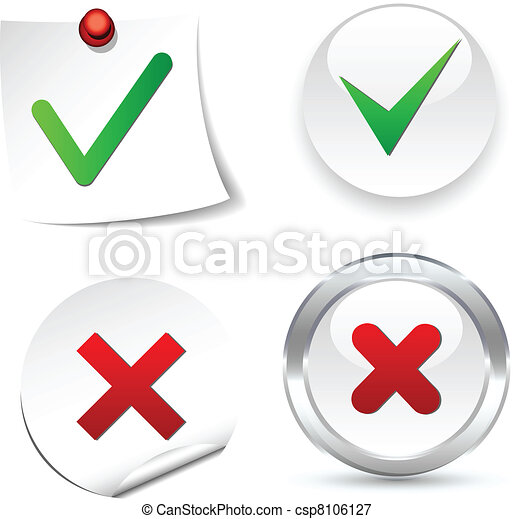 Validation Icons. - csp8106127