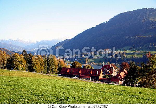 valle, alpino - csp7837267