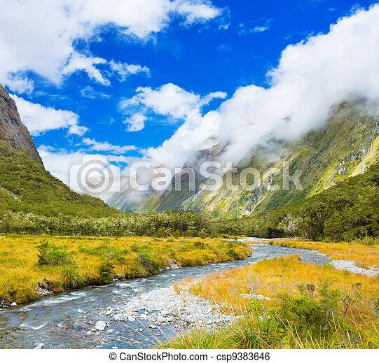 Mountain Valley - csp9383646